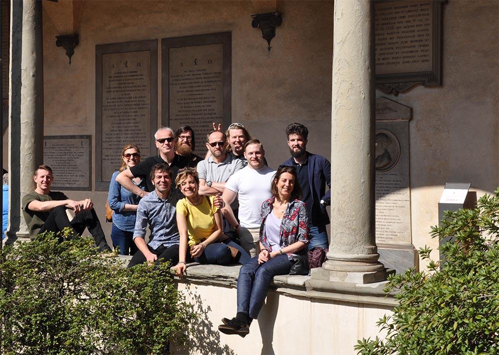 Team Callen in Florence