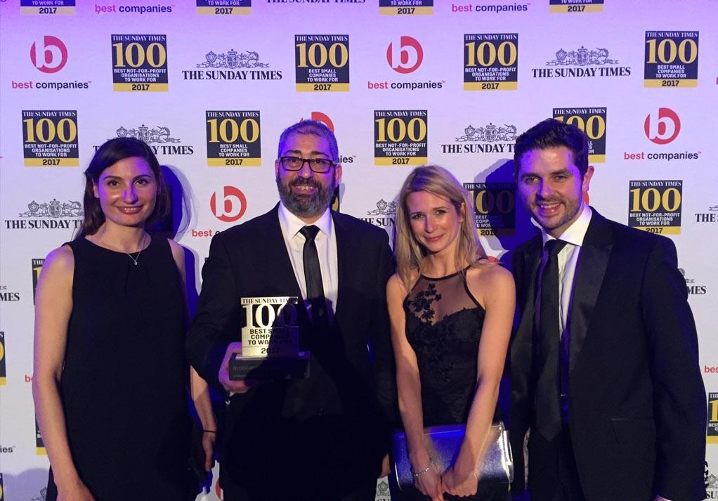 Best Companies awards ceremony