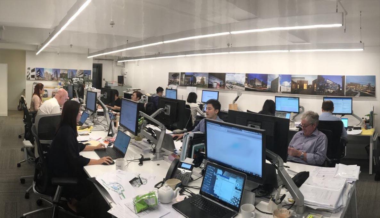The team in Hong Kong