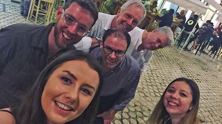 Team Bell in Malaga