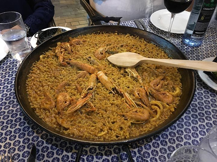 A feast of paella