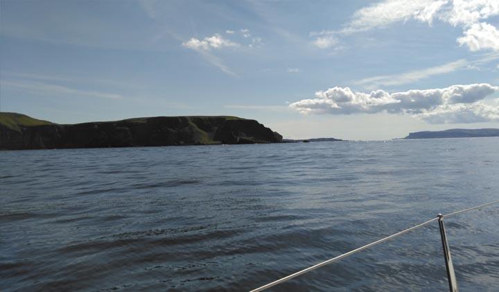 Approach to Rathlin and Fair Head, Antrim
