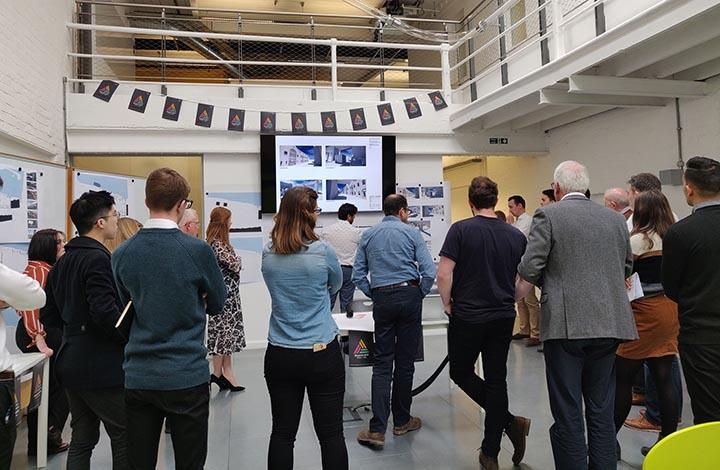 Blueprint design review at Cooper's Studios