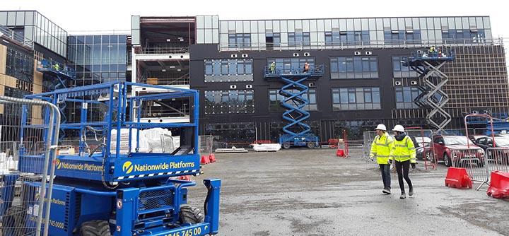 Queensferry High School site visit